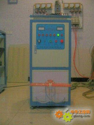 河南蓝硕钢筋在线退火发蓝加热设备