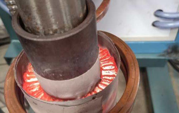 郑州蓝硕工业炉电机转子钎焊加热设备